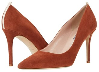 Sarah Jessica Parker Fawn 90mm (Rust Suede) Women's Shoes