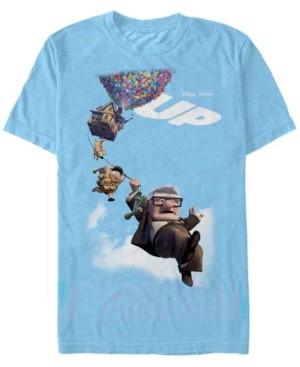 Disney Pixar Men's Up Movie Poster Group Shot, Short Sleeve T-Shirt
