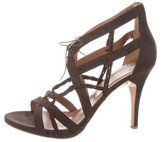 Sigerson Morrison Leather Cage Sandals w/ Tags