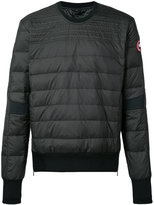 Canada Goose puffer sweatshirt
