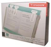 Typhoon Vintage Kitchen Recipe Book Holder - Blue