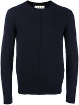 Marni classic crew neck jumper - men - Cotton - 48