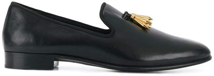 Giuseppe Zanotti Design Spacey spike tassel loafers
