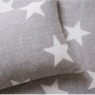 Silentnight Healthy Growth Stars Duvet Cover Set - Grey