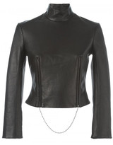 Alexander Wang cropped funnel neck top