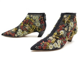 Christian Dior Black Cloth Ankle boots