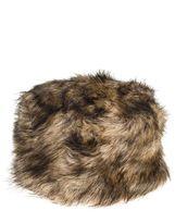 Quiz Brown Fur Hat