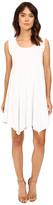 Mod-o-doc Cotton Modal Spandex Asymmetrical Seam Dress