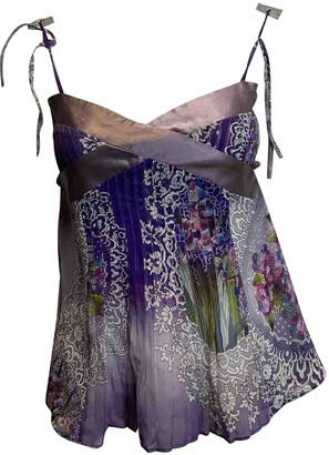 Matthew Williamson purple Silk Tops
