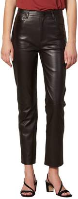 Sandro Slim Leather Pants