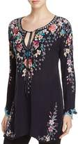 Johnny Was Floral Embroidered Peasant Tunic