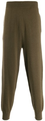 Extreme Cashmere loose-fit knit trousers