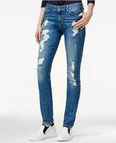 Tommy Hilfiger TOMMYXGIGI Venice Distressed Straight-Leg Jeans