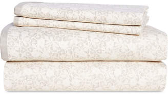 Lauren Ralph Lauren Allaire Cotton 230-Thread Count 4-Pc. Small Floral California King Sheet Set Bedding