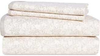 Lauren Ralph Lauren Allaire Cotton 230-Thread Count 4-Pc. Small Floral King Sheet Set Bedding
