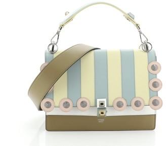 Fendi Kan I Bag Studded Leather Medium