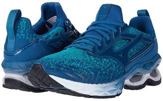 Mizuno Wave Creation WAVEKNITtm 2 (Lapis/Moroccan Blue) Women's Running Shoes