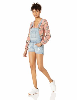 Dollhouse Women's Antigua Denim Shortall 5