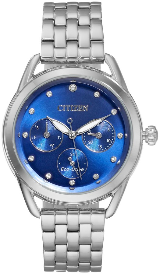 Citizen Drive From Eco-Drive Women's LTR Crystal Stainless Steel Watch - FD2050-53L