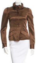 Gucci Ruched Fitted Jacket