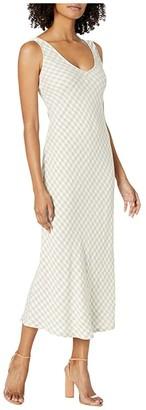 Rachel Pally Linen Bias Dress (Gingham) Women's Dress