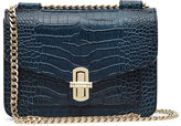 Reiss Elliott Snake-Effect Mini Bag