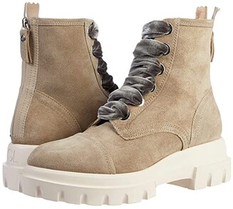 AGL Combat Boot (Taupe) Women's Shoes