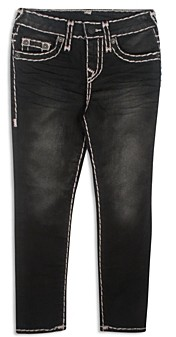 True Religion Boys' Contrast-Stitch Geno Slim Jeans - Little Kid, Big Kid