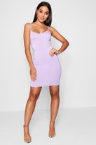 boohoo Freida Basic Strappy Cami Bodycon Dress