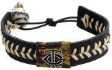 GameWear Minnesota Twins Leather Baseball Bracelet