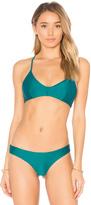 RVCA Cross Back Bikini Top