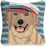 Liora Manné Frontporch Salty Dog Square Throw Pillow in Black