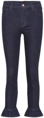 J Brand High Rise Crop Ruby jeans