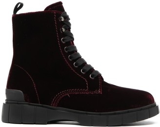 Car Shoe Velvet Cargo Boots