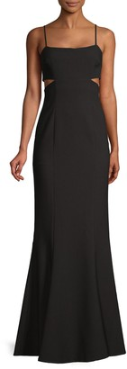 LIKELY Tamarelli Cutout Column Gown