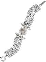 Isabel Marant Silver-tone Crystal Bracelet - one size