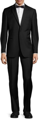Saks Fifth Avenue Made In Italy Wool Notch Lapel Tuxedo
