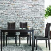 Dark Brown 5-piece Modern Dining Set