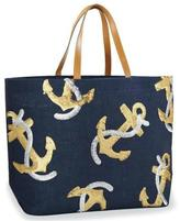 Mud Pie Anchor Dazzle Tote