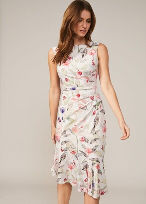 Phase Eight Dulcie Floral Jersey Dress