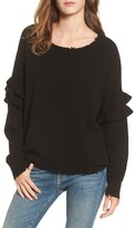Current/Elliott Women's The Ruffle Sweater
