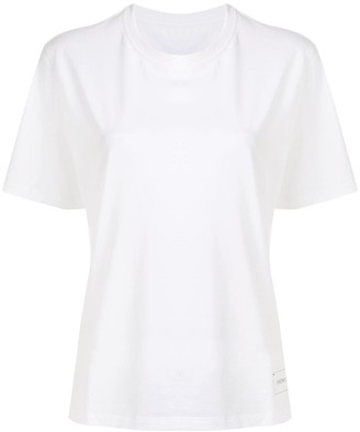 PortsPURE logo embroidered T-shirt