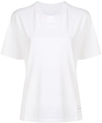 Portspure logo embroidered T-shirt
