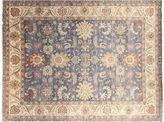 F.J. Kashanian 9'x12' Oushak Rug, Denim Blue/Ivory