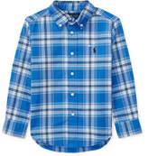 Ralph Lauren Oxford Performance Button-Down Shirt, Size 2-4