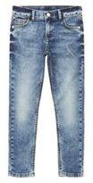 F&F Acid Wash Stretch Skinny Fit Jeans, Girl's