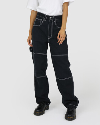 Dakota501 - Women's Black Relaxed Jeans - Carpenter Pant - Size One Size, 6 at The Iconic
