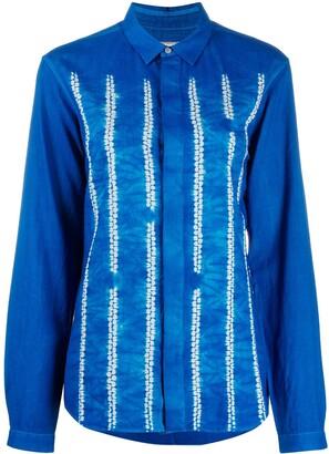 Suzusan Tie-Dye Print Shirt