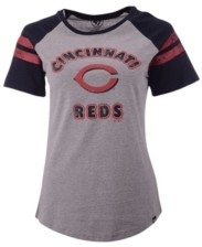 '47 Women's Cincinnati Reds Fly Out Raglan T-shirt