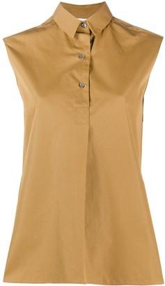 Aspesi Sleeveless Tailored Shirt